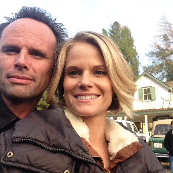 Walton Goggins and Leanne Goggins