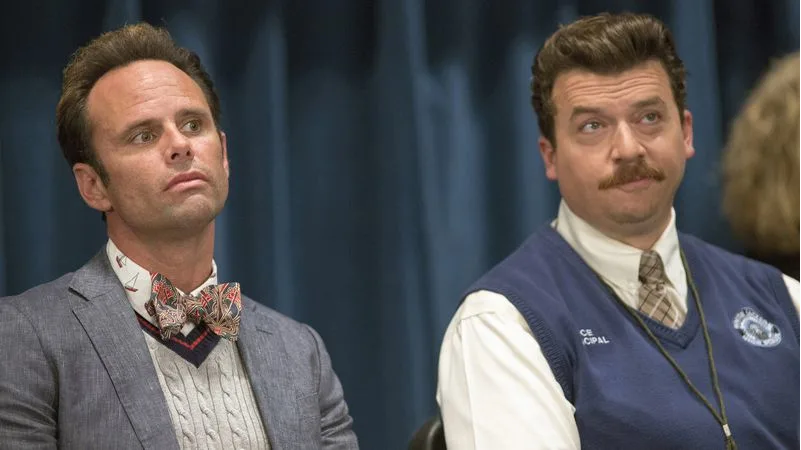 Interview Walton Goggins talking about Vice Principals and Lee Russell